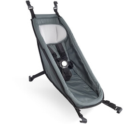 Croozer Babysæde til Kid fra 2014, graphite blue